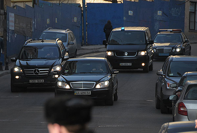 Кортеж / Фото: www.pravda.com.ua