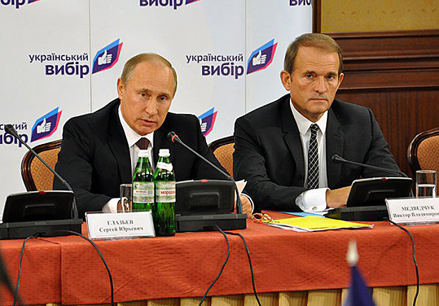Медведчук Путін / Фото: argumentua.com