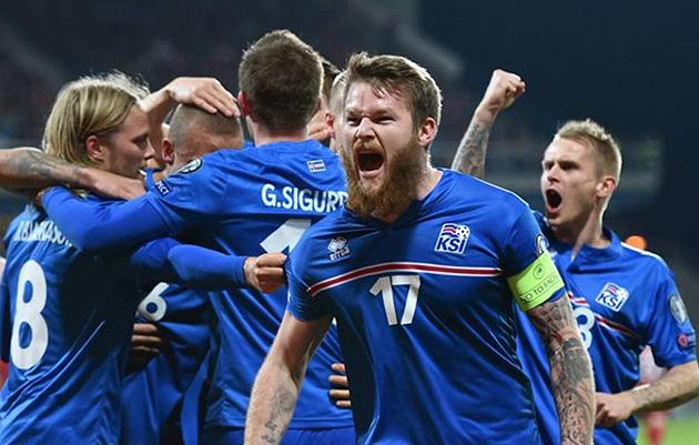 Збірна Ісландії / Фото: www.ves.lv