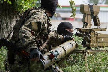 АТО: боевики стреляют из минометов, САУ и БМП