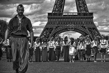 У Парижі вшанували пам'ять загиблого в АТО Василя Сліпака