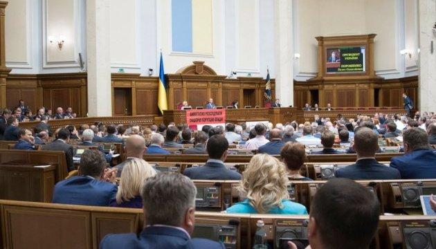 Нардепи ухвалили постанову про Крим і розійшлися