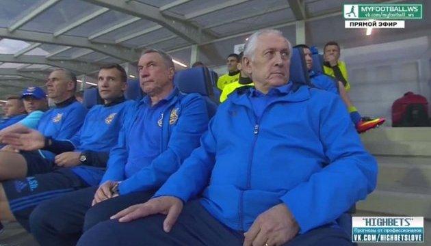 Фоменко повідомив футболістам, що йде зі збірної