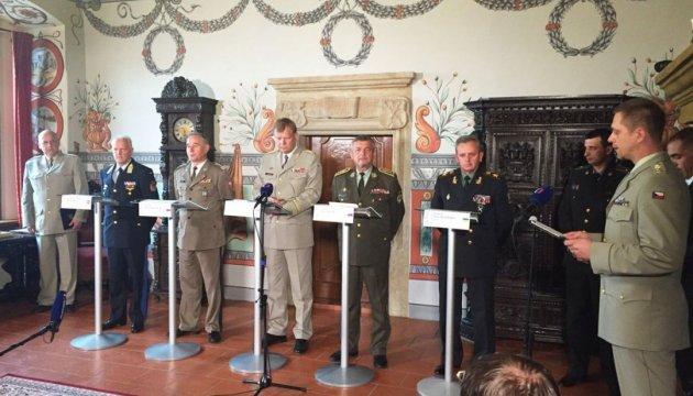 Генштабы Вышеградской четверки встретились в формате