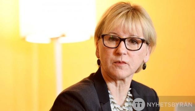 Швеція не визнає результатів російських виборів в анексованому Криму