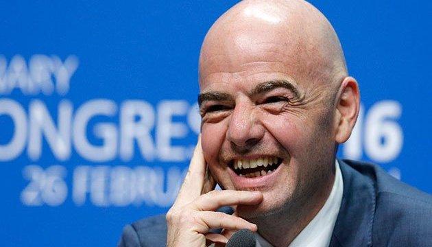 Президента ФІФА підозрюють у розтраті