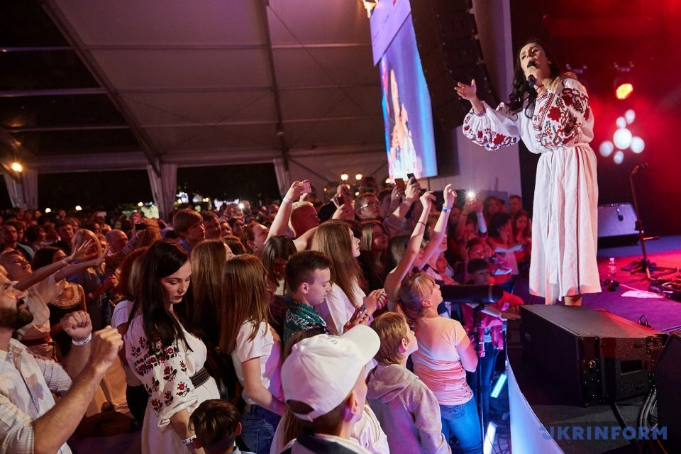 Виступ Джамали на фестивалі Alfa Jazz Fest у Львові / Фото:  Альона Николаєвич, Укрінформ