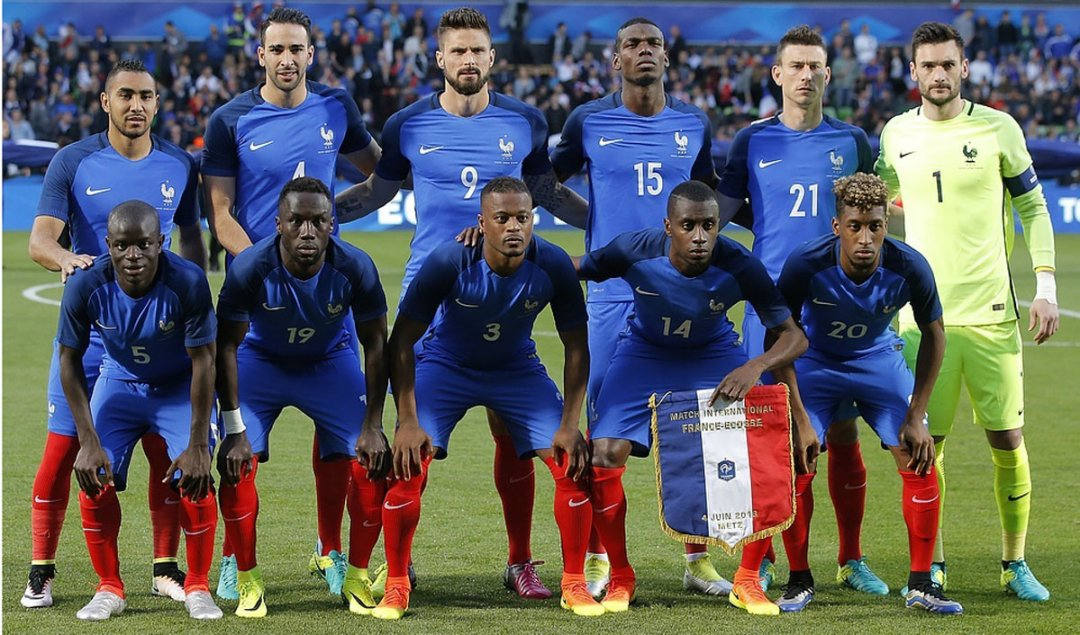 Збірна Францїї