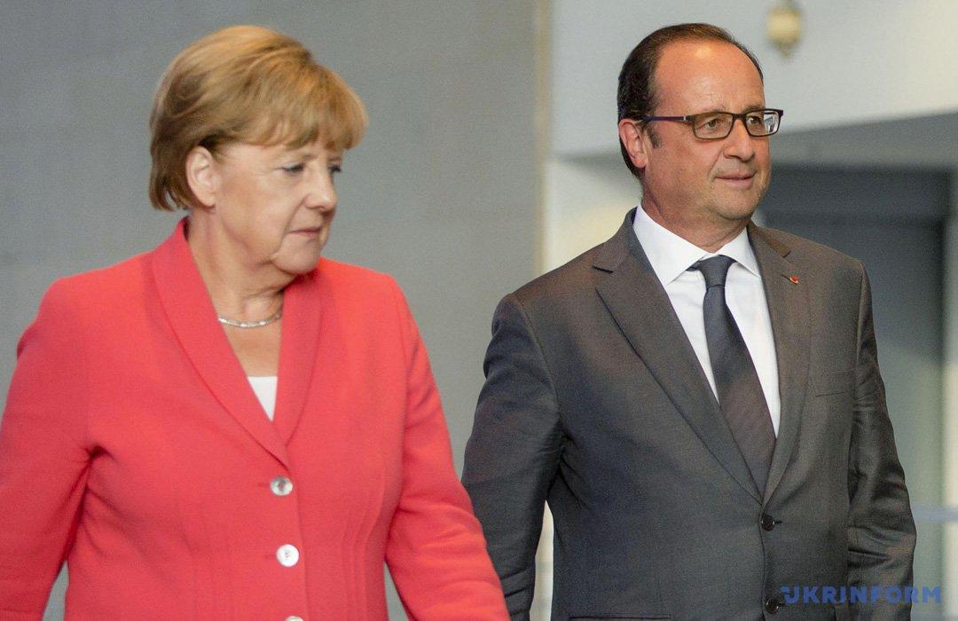 Меркель, Олланд