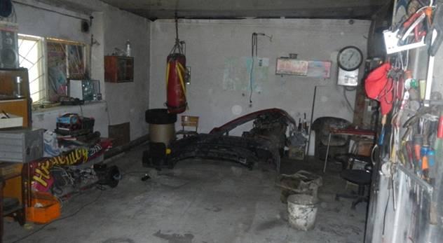 жилье грабителя в Киеве фото: Нацполиция Киева