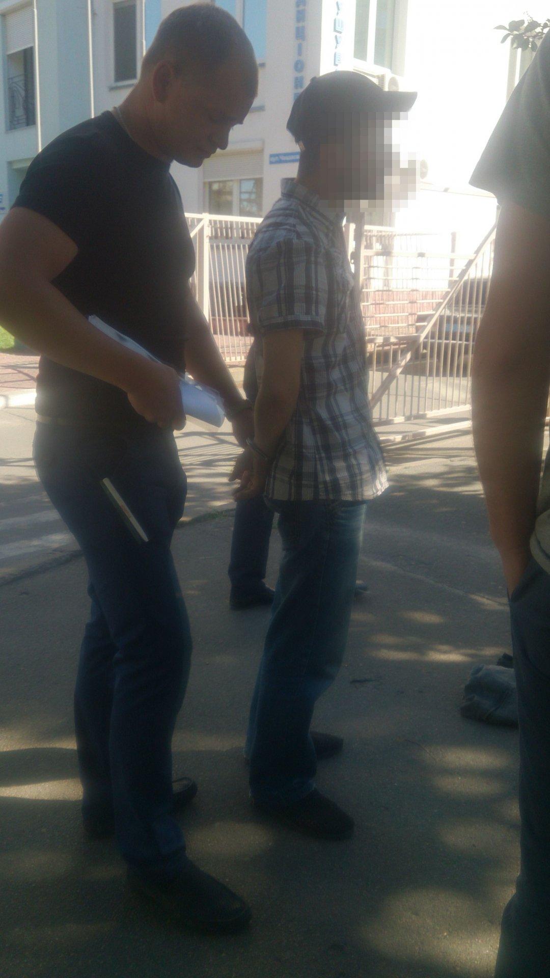 задержанный с боеприпасами фото: Сегодня