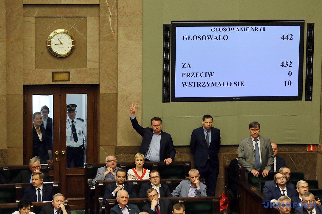Верховна Рада стерпіла образу від поляків. Чи правильно це?