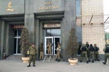 """У ГПУ кажуть, що не допустять рейдерського захоплення готелю """"Козацький"""""""