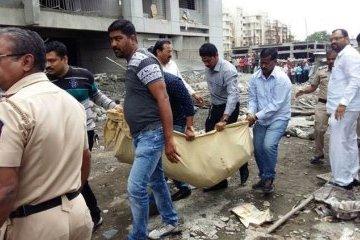 В индийской Пуне обрушилось здание: погибли девять человек