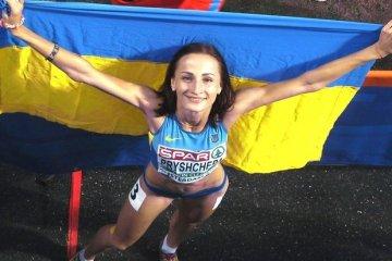 Легкоатлетка Наталья Прищепа - лучшая спортсменка июля в Украине