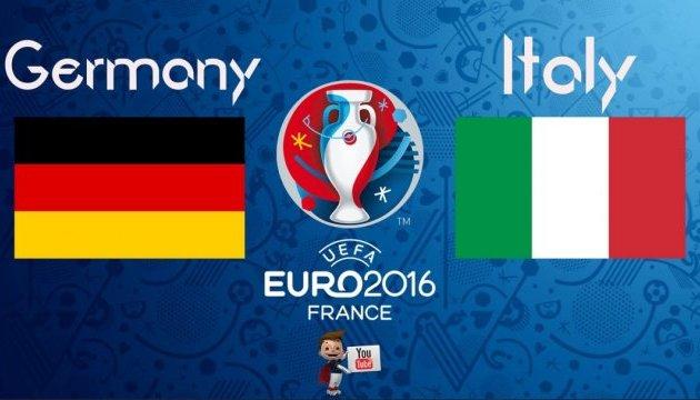 Евро-2016. Германия по пенальти победила Италию и вышла в полуфинал