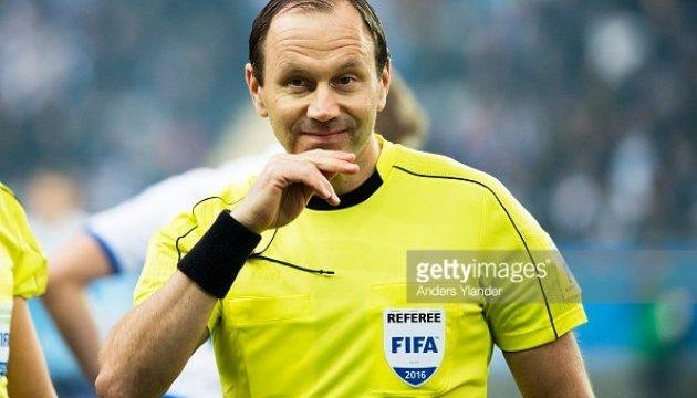 Швед Ерікссон та італієць Ріццолі судитимуть півфінали Євро-2016