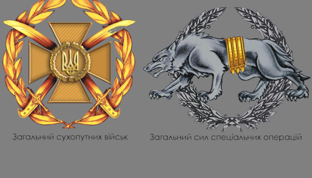 Оборотень, крылья и мечи – в сети показали новые знаки различия украинской армии
