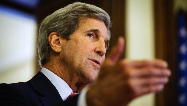 США, Германия и Франция совместно работают над украинским вопросом - Керри