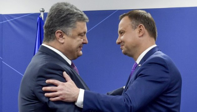 Президенти України та Польщі ухвалили спільну декларацію
