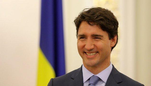 Прем'єр Канади привітав українців із Днем Незалежності