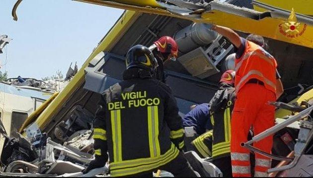 Железнодорожная катастрофа в Италии: уже 22 смертельные жертвы