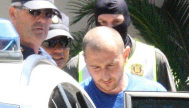 Испанские СМИ показали сына Черновецкого в наручниках