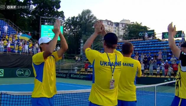 Стаховський вивів Україну в плей-офф Кубка Девіса
