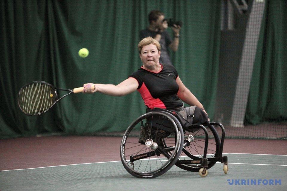 Міжнародний тенісний турнір Kharkov Open для тенісистів-візочників у Харкові / Фото: В'ячеслав Мадієвський, Укрінформ.