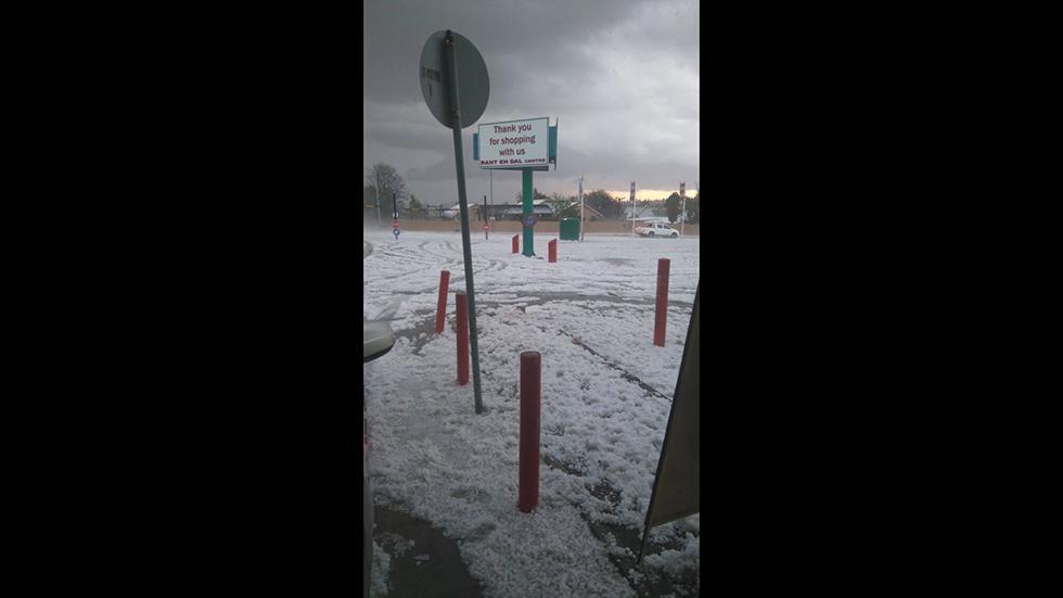 снег в Африке