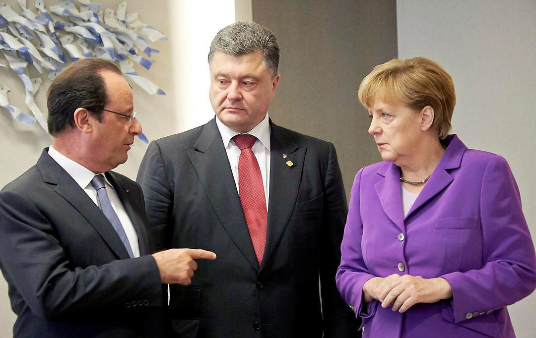 Німеччина і Франція пропонують Україні визнати поразку в одній війні і вигравати другу