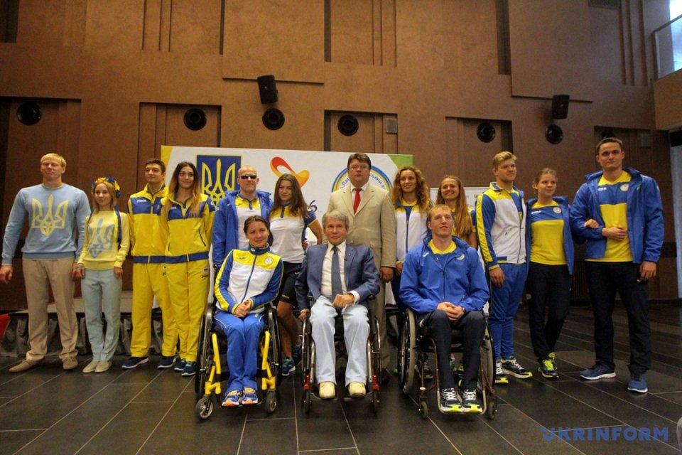 Паралимпийская команда презентовала новый состав иформу