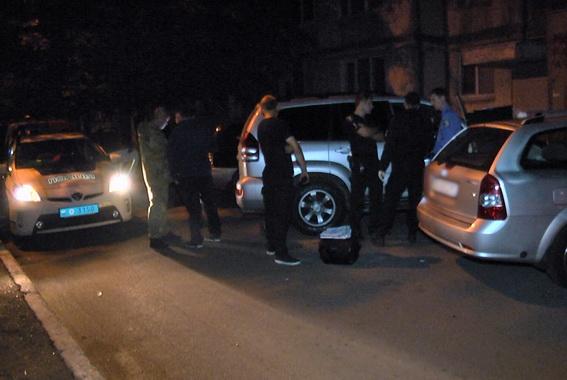 ВДеснянском районе столицы Украины ночью горел автобус