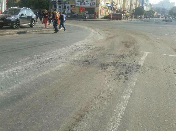 На фото: перетин вулиць Старовокзальної і Жилянської