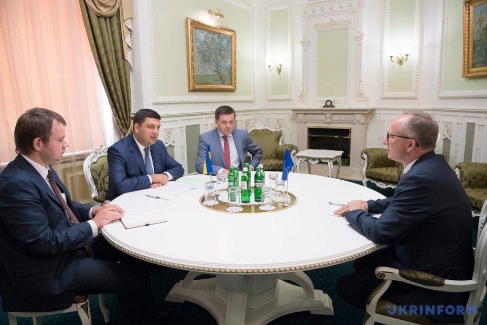 Украина рассчитывает получить отЕС дополнительные торговые преференции