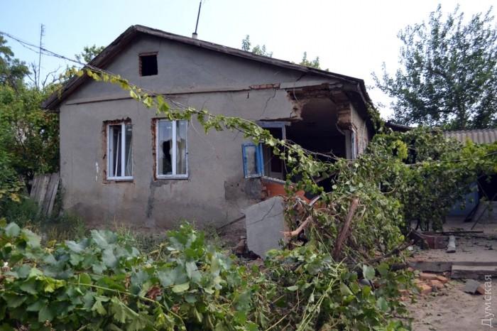 Ще один розгромлений будинок. Фото: Думская.