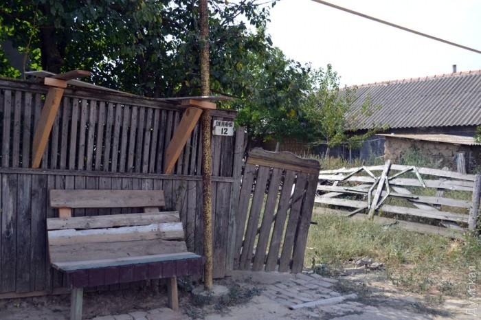 Дом подозреваемого в убийстве Михаила также разгромил