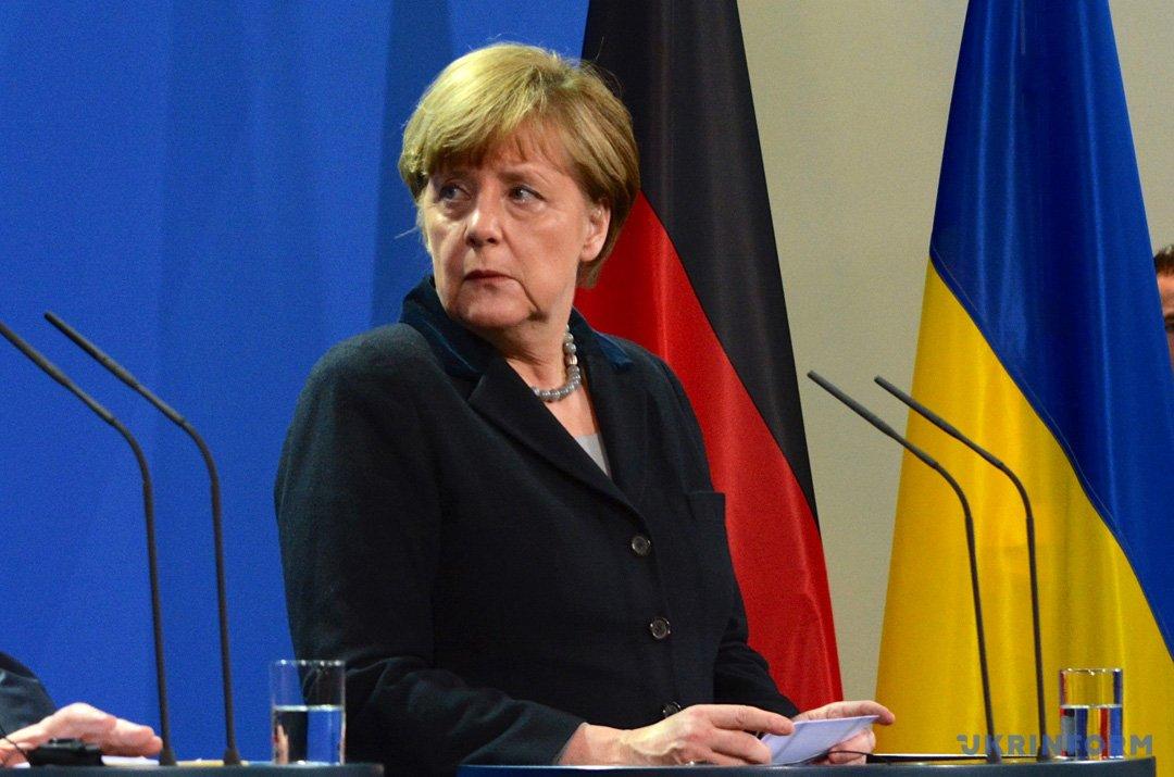 На фото: Ангела Меркель - канцлер Німеччини