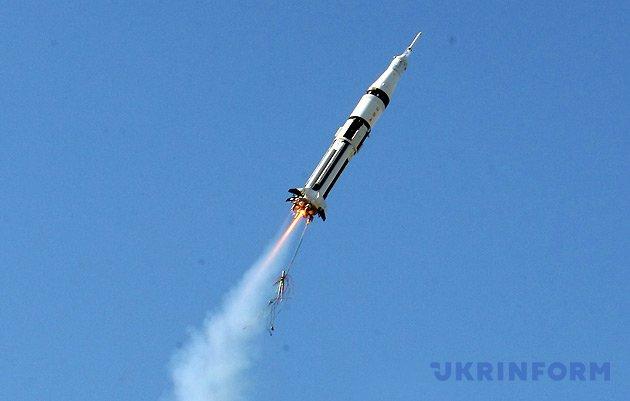 Модель ракети, запущеної командою Словенії
