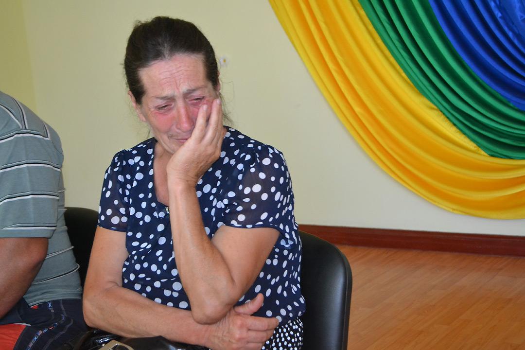 Мать задержанного Александра Причипойды