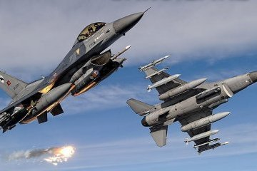 Турецька авіація знищила 13 курдських бойовиків - ЗМІ