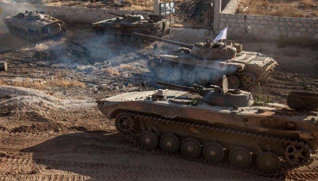 Войска Асада начали наступление в Алеппо