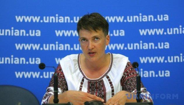 Заяви Савченко розгляне ще й політрада «Батьківщини»