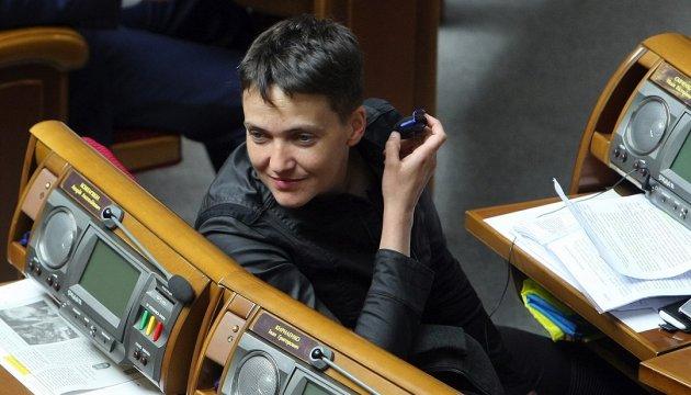 """""""Батьківщина"""" обговорить заяви Савченко на засіданні фракції"""