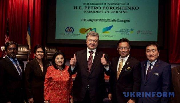 У Порошенка назвали угоди, які підпишуть у Малайзії