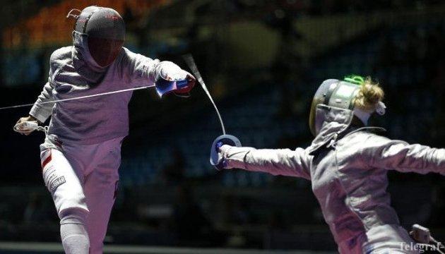 Українські шпажистки вийшли до чвертьфіналу Ігор у Ріо