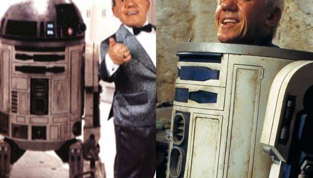 """Помер виконавець ролі R2-D2 у """"Зоряних війнах"""""""