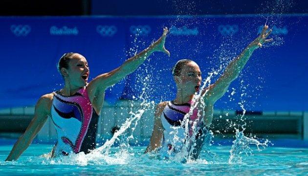 Український дует був четвертим у змаганнях із синхронного плавання