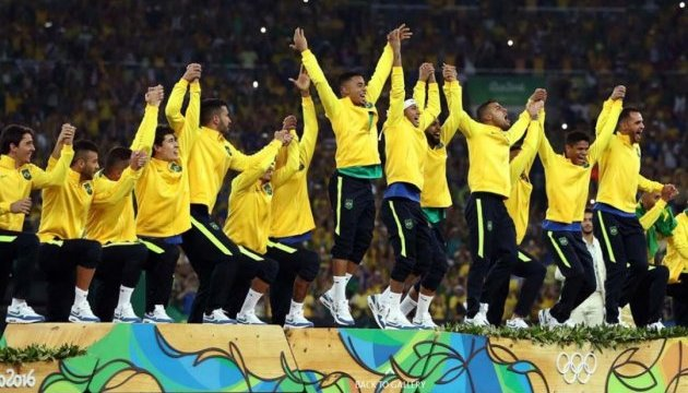 Бразильці - олімпійські чемпіони з футболу
