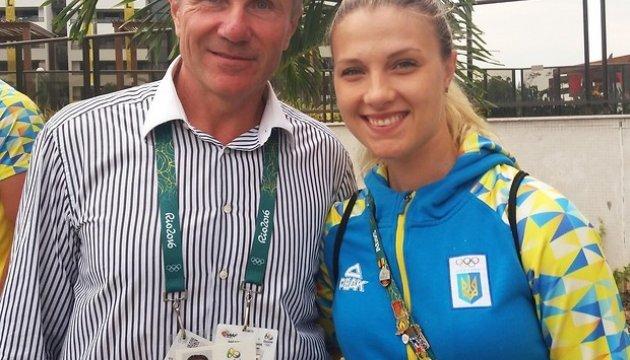 Ольга Харлан - прапороносець України на закритті Олімпійських ігор